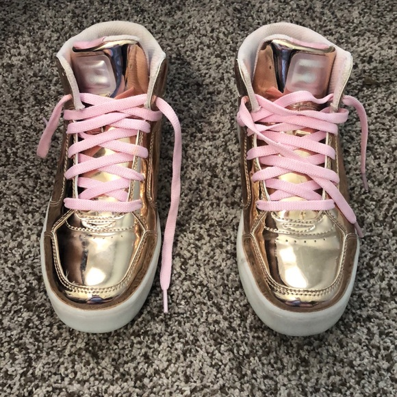 Girls Color Changing Tennis Shoes